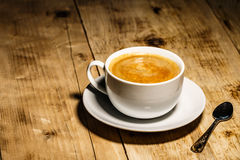 Coffee. A hot cup of coffee to wake up royalty free stock photos