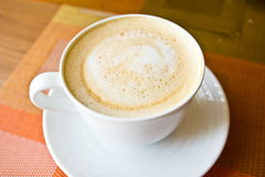 Coffee hot latte Stock Photography