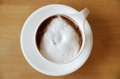 Coffee. Hot coffee on a table Royalty Free Stock Photos