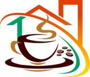 Coffee house stock illustration