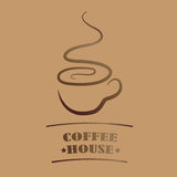 Coffee house stock illustration