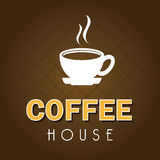 Coffee house design Royalty Free Stock Photos