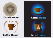 Coffee house logo Royalty Free Stock Photos