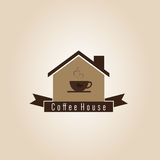 Coffee House Logo Stock Images