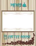 Coffee house menu Royalty Free Stock Photo