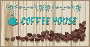 Coffee house menu Stock Photo