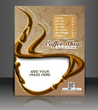 Coffee House Menu Card Stock Images
