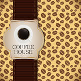Coffee house menu template vector illustration Royalty Free Stock Photography