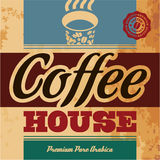 Coffee House Stock Photo