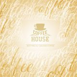 Coffee house. Royalty Free Stock Image