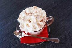 Coffee with ice-cream Stock Photos