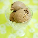 Coffee ice cream Stock Image