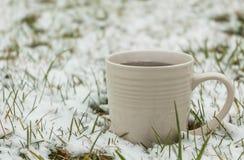 Coffee on ice Stock Photography