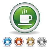 coffee icon. On white background Stock Image