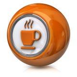 Coffee icon Stock Image