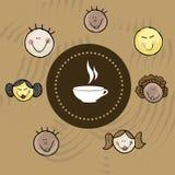 Coffee icon Royalty Free Stock Photos