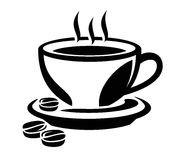 Coffee icon Stock Image
