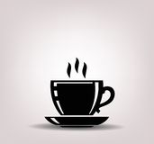 Coffee icon Stock Photography