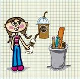 Coffee icon Stock Photo