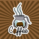 Coffee icon Royalty Free Stock Photo