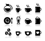 Coffee icon set -  Stock Photography