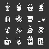 Coffee icon set,  eps10 Stock Photos