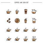 Coffee icon set Royalty Free Stock Image