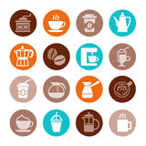 Coffee Icon Set. Vector Stock Photo