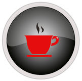 Coffee icon. Vector file of coffee icon Royalty Free Stock Photos