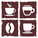 Coffee icon Royalty Free Stock Photos