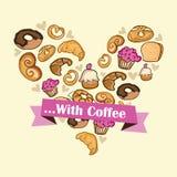 Coffee Icons Stock Image