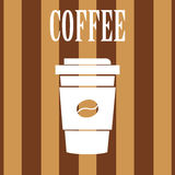 Coffee icons Stock Photos