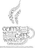 Coffee illustration Stock Photos
