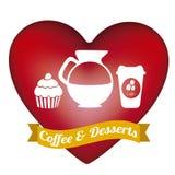 Coffee illustration Royalty Free Stock Photo