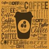Coffee illustration Stock Photography