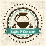 Coffee illustration Stock Image