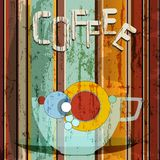 Coffee illustration, Royalty Free Stock Photo