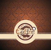 Coffee illustration Stock Photography