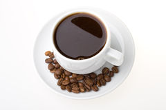 Coffee In A Cup Stock Photo