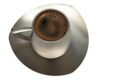 Free Coffee In A Metal Cup Royalty Free Stock Photo - 4126065