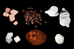 Coffee ingredient Royalty Free Stock Image