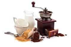 Coffee ingredients. Royalty Free Stock Image