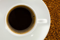 Coffee and instant coffee Royalty Free Stock Image