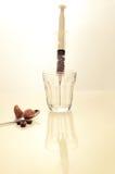 Coffee intravenous drug. Stock Photo