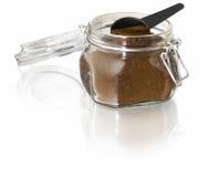 Coffee jar Stock Photo