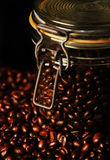 Coffee in the jar Royalty Free Stock Image