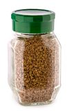 Coffee jar isolated Royalty Free Stock Photo