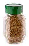 Coffee jar isolated Royalty Free Stock Photo