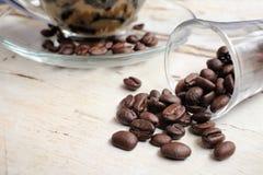 Coffee jelly Stock Photos