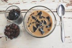Coffee jelly Royalty Free Stock Photos